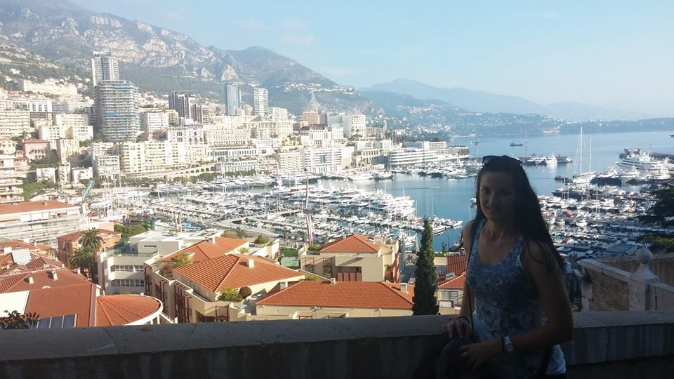 Milnay Louw in Monte Carlo