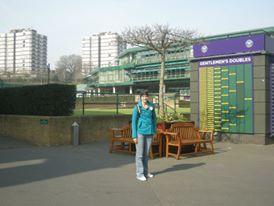 Milnay at Wimbeldon